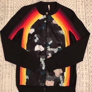 No Ka'Oi Nalani printed stretch jacket